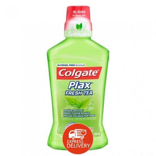كولجيت – غسول الفم بالعناية الكاملة بمكهة الشاي 500 مل