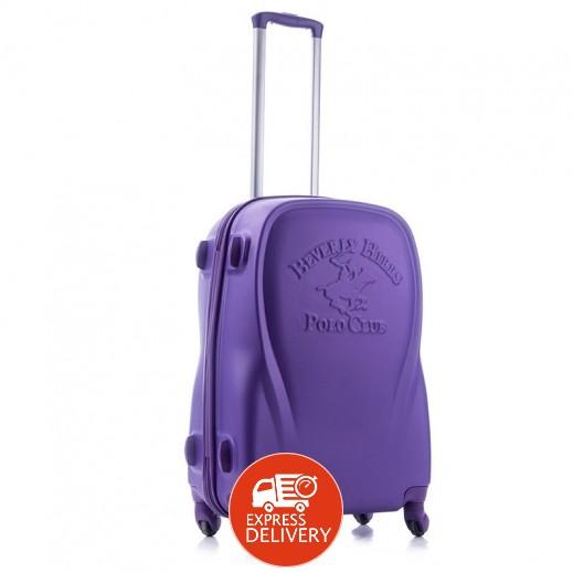 بولو - حقيبة سفر كندا 4 عجلات حجم كبير - بنفسجي