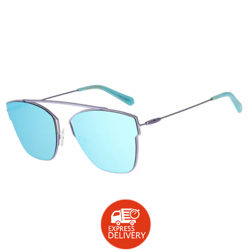 تشيلي بينز - نظارة شمسية للسيدات - أزرق