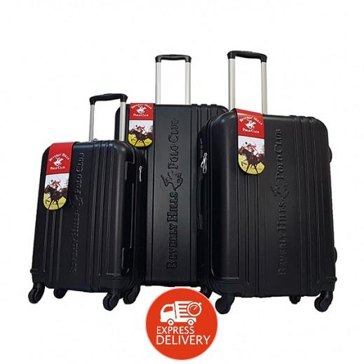 23000bff1 اشتري يو إس بولو – طقم حقائب سفر 3 حبة – أسود | توصيل Taw9eel.com