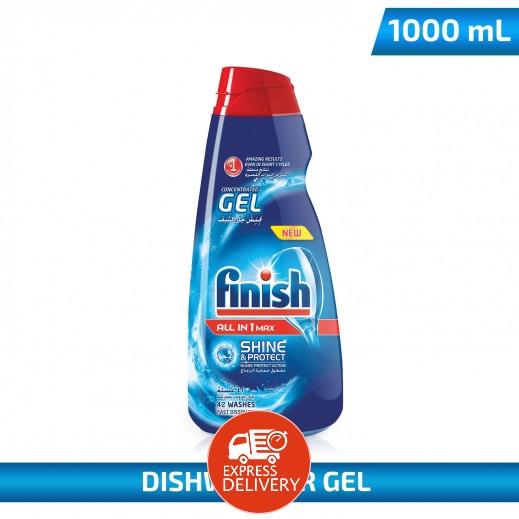 فينيش – سائل جيل 4 × 1 لغسالات الأطباق المنزلية 1 لتر