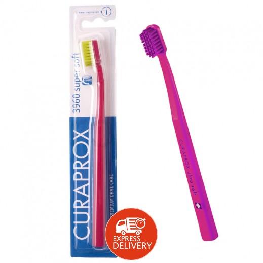 كيورابروكس – فرشاة أسنان CS 3960 فائقة النعومة - ألوان متعددة