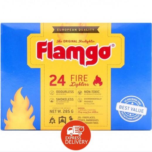 فلامكو - مشعل للفحم 285 جرام (24 قطعة)