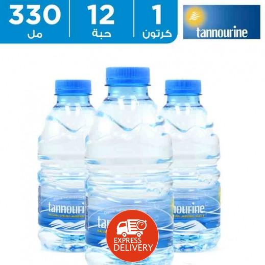 تنورين – مياه معدنية 330 مل (12 حبة)