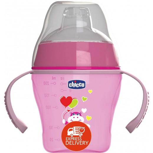 شيكو – كوب الوجبات الناعم للأطفال من عمر 6+ أشهر وردي