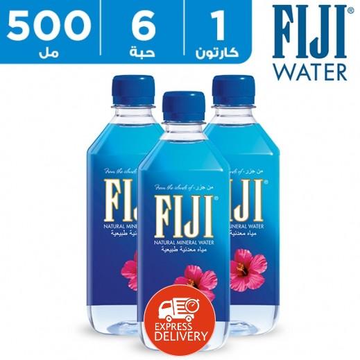 فيجي – مياه معدنية طبيعية  6 × 500 مل