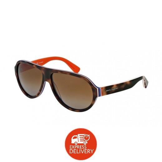 دولشي جابانا – نظارة شمسية للرجال بني 64 مم