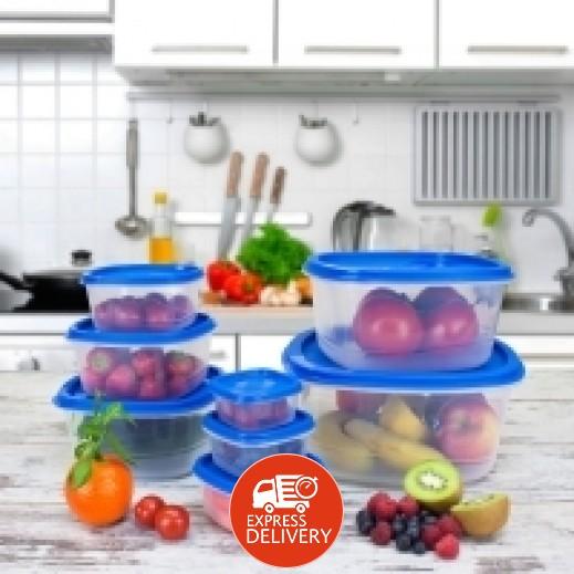 برينس وير - طقم أوعية وعاء سور فريش لحفظ وتخزين الأطعمة -8  حبة