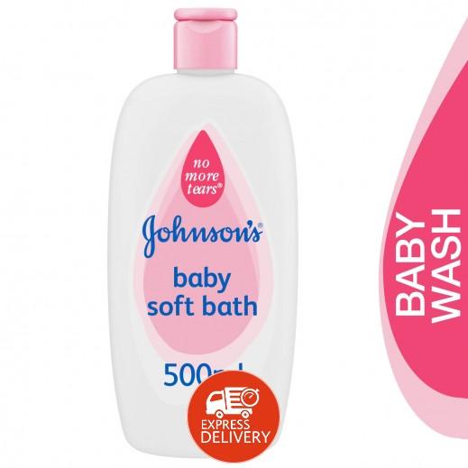 جونسون بيبي، سائل استحمام ناعم، 500 مل