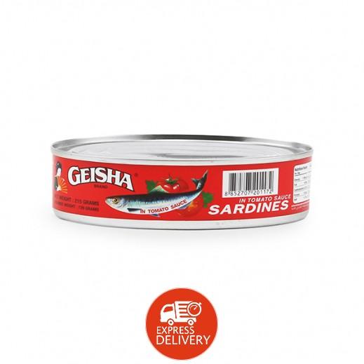 جَيشا – سردين في صلصة طماطم 215 جم