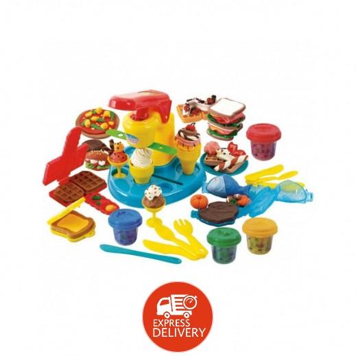بلاي جو – لعبة عجينة صلصال على شكل أطعمة
