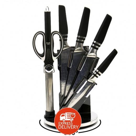 كوك ستايل  - طقم سكاكين مطبخ 7 حبة