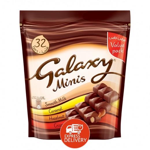 جالاكسي - شوكولاتة مينيز مشكلة 400 جرام
