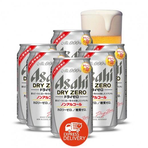 أساهي - مشروب شعير خالي من الكحول 6×350 مل