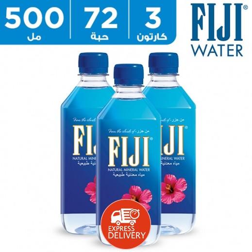 فيجي – مياه معدنية طبيعية 500 مل (3 × 24) – أسعار الجملة