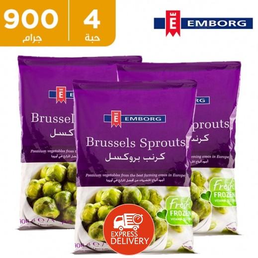 إيمبورج – كرنب بروكسل 900 جم (4 حبة) - أسعار الجملة
