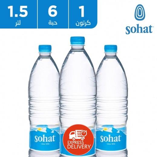 صحة - مياه معدنية طبيعية 6 × 1.5 لتر