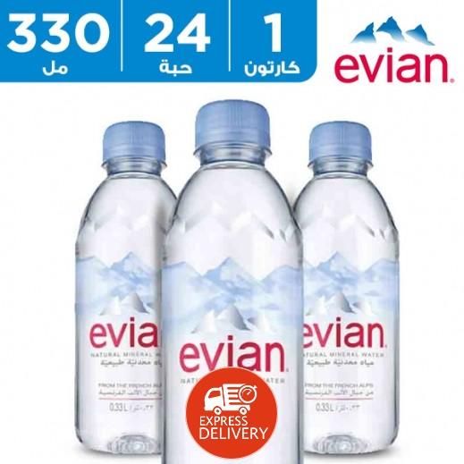 إيفيان - مياة معدنية طبيعية - 24 × 330 مل