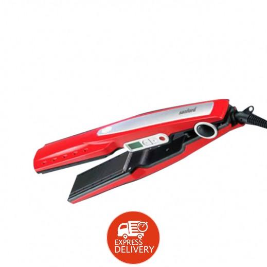 سانفورد – مملس الشعر بشرائح السيراميك للإستخدام الجاف والرطب موديل SF1012HST