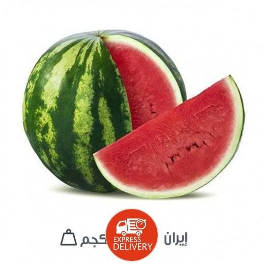 بطيخ إيراني طازج 5 - 6 كجم تقريبا