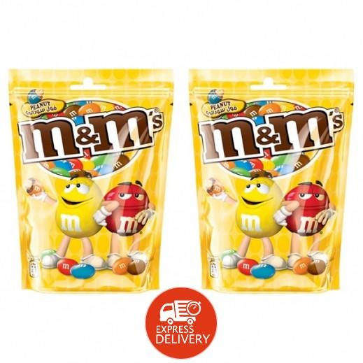 إم أند إمز - شوكولاتة بالفول السوداني 2×180 جم