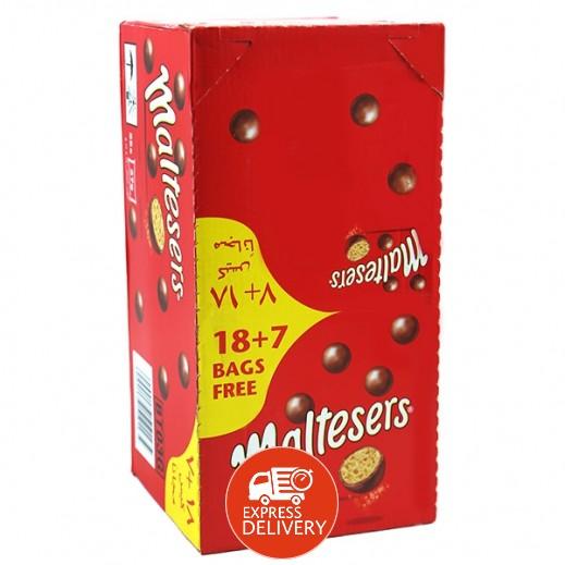 مالتيسرز شوكولاتة الحليب 37 جم (18 + 7 مجاناً)