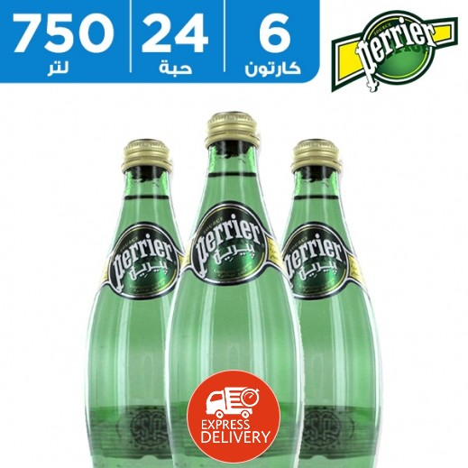 بيريه – مياه معدنية طبيعية 750 مل (6 × 4) - أسعار الجملة