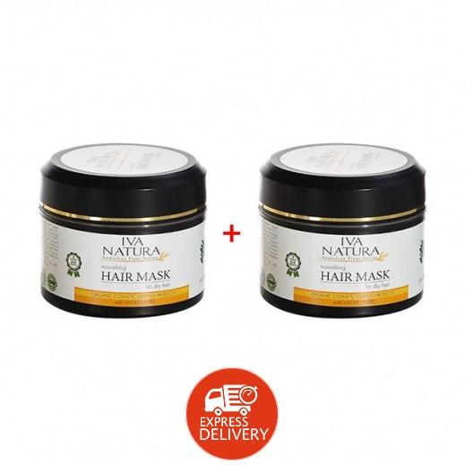 إيفا ناتورا – قناع شعر عضوي للشعر الجاف 250 مل (1+1 مجانا)