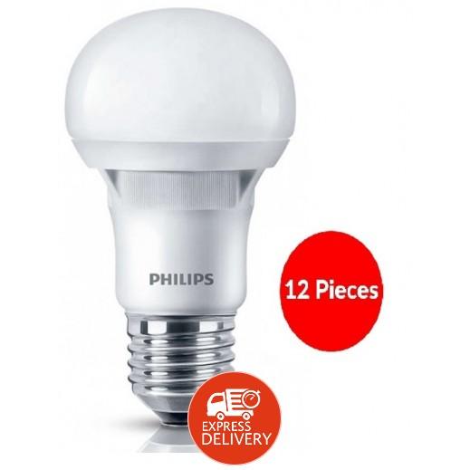 فيليبس – لمبة ESS LED لون اصفر 3000K E27 بقوة 7 واط – 12 حبة