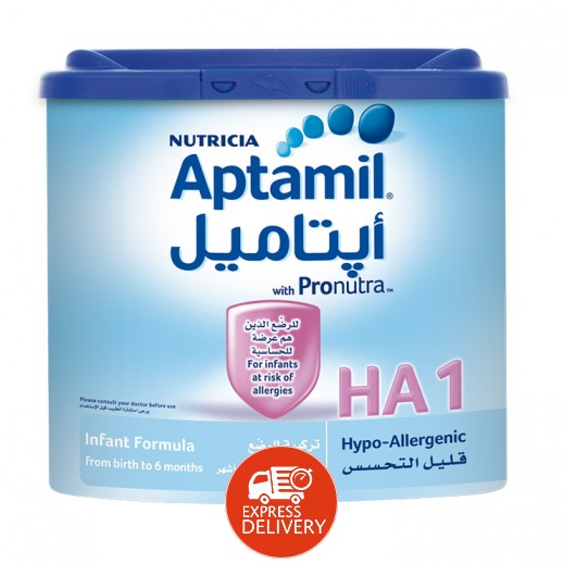 أپتاميل – حليب أطفال للحماية من الحساسية مرحلة 1 (من الولادة حتى 6 أشهر) 400 جم