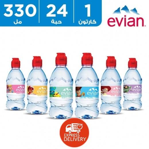 إيفيان – مياه طبيعية توي استوري لحديثي الولادة 24 × 330 مل