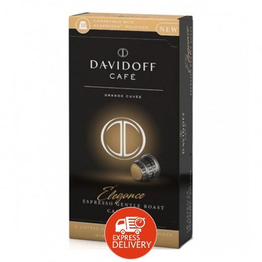 دافيدوف - قهوة كافي استايل اسبريسو تحميص معتدل 55 جم (10 كبسولة)