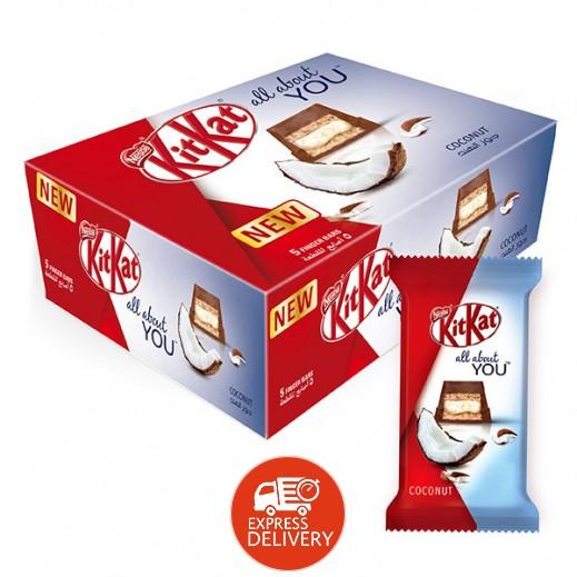 كيت كات - شوكولاته بجوز الهند 5 أصابع 12 × 40 جم