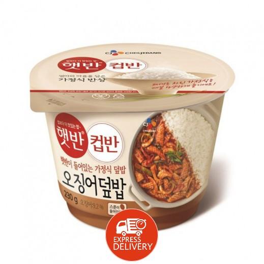تشيلجيدانج - وجبة خفيفة أرز مع الحبار 230 جم