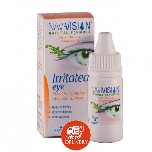 نافيفيسيون – قطرة ضد حساسية العين 15 مل