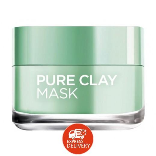 L'Oreal Eucalyptus Pure Clay Face Mask 50 ml