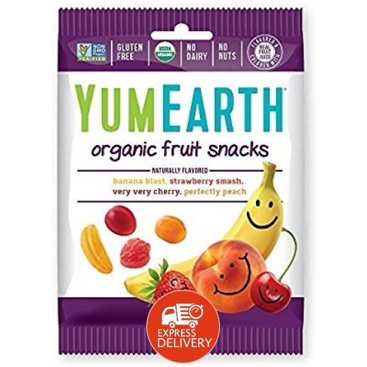 يامي إيرث – حلوى سناكس عضوية طبيعية 50 جم