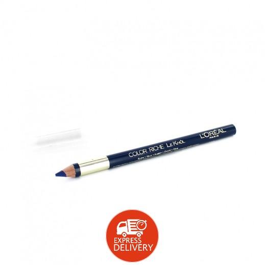 """لوريال – قلم كحل """" كلر ريتش """" – أزرق عميق"""