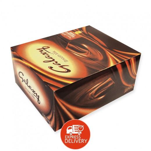 جالاكسي - شوكولاتة بالحليب - كرتون 24 حبة × 40 جم