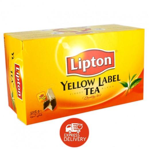 ليبتون – شاي العلامة الصفراء 50 كيس