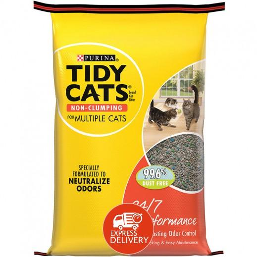 تايدي كاتس – تراب فضلات القطط  بفاعلية 24/7 - 9.07 كجم