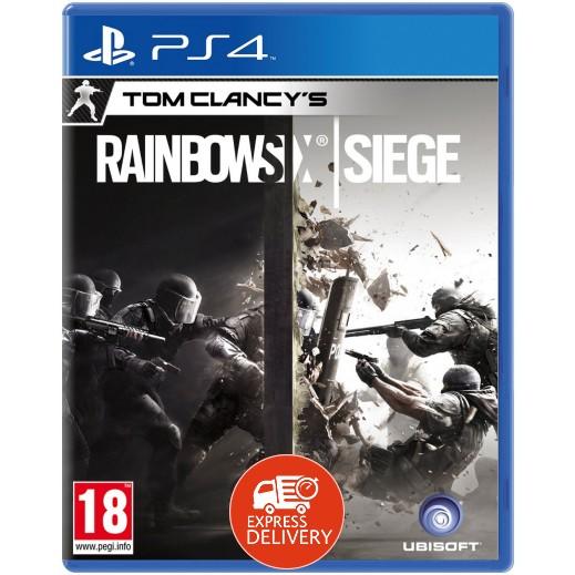 لعبة TOM CLANCYS RAINBOW SIX SIEGE لـ PS4 – نظام PAL