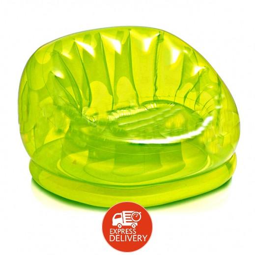 إنتكس – كرسي هوائي Cosmo قابل للنفخ – لون أخضر