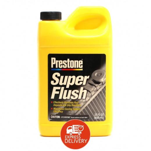 بريستون سائل ممتاز لتنظيف مبرد السيارة SUPER FLUSH