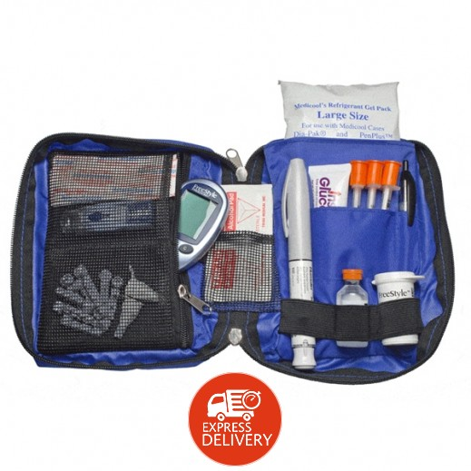 Medicool Dia Pak Diabetic Supply Organizer