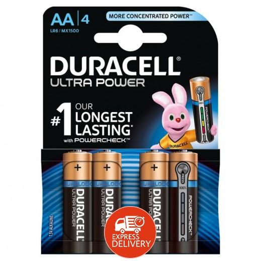 دوراسيل - بطارية الكالين مقاس AA - عبوة 4 حبة