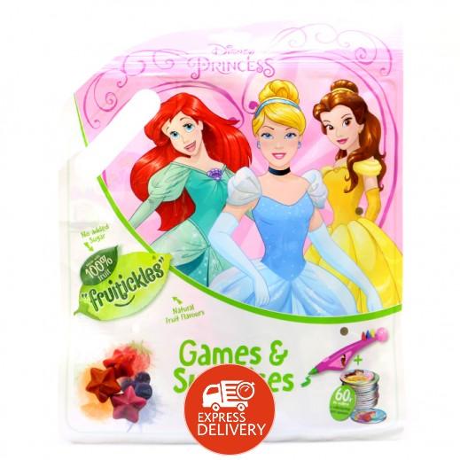 ديزني – حلوى الفواكة المطاطية مع ألعاب بتصميم الأميرات 10 جم