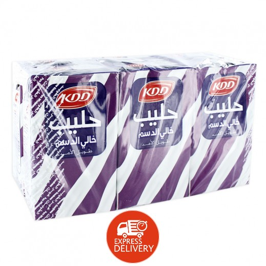 كى دى دى – حليب طويل الأمد خالي الدسم 250 مل ( 6 حبة )