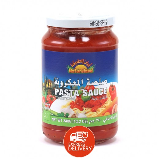 Natureland Pasta Sauce Traditional 340g