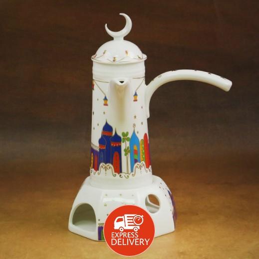 دلة قهوة عربية سيراميك